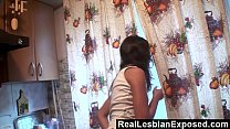 Kitchen Sex With Young Lesbians