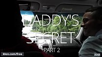Men.com - (Aston Springs, Myles Landon) - Daddy S Secret Part 2 - Str8 to Gay - Trailer preview