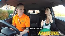 Fake Driving School Male Learner fucking his female driving examiner thumbnail