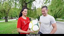 TeamSkeet - Horny Latina Fucking during World Cup Preview