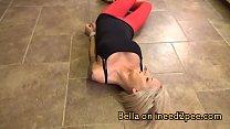 Bella Ink needs to pee wetting her panties thumbnail