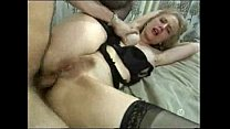 Blonde Lady In Nylons thumb