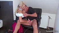 German Step Son Seduce Big Tit Mother in Lingerie to Fuck Vorschaubild