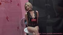 Model asian massage dj seksi