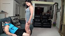 Step mom stripper practice