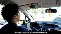 BlackValleyGirls - Ebony Queen Eats Driving Instructors Dick - 69VClub.Com