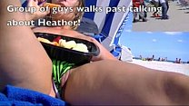 Heather Brings Her Talents To South Beach! Pussy Slip Time! thumbnail