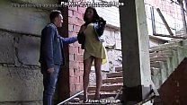 (FULL) Sexy And Wild High Heels Fucked On Outdoor With A Busty Hottie Thumbnail