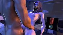 Mass Effect - Tali'Zorah Porn