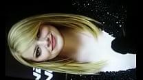 My huge cum tribute on Emma Stone 2