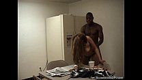 A Very Nasty Interracial Fucking Action In The Breakroom Image