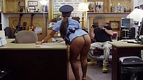 XXX PAWN   Big Booty Latin Police Woman Despera