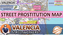 Valencia  Spain  Sex Map  Street Prostitution M