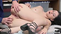 The LP Officer fucks Violet Rains pussy like a cherry on top! preview image