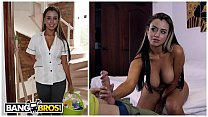BANGBROS - Hot Colombian Maid With Big Tits Giv...