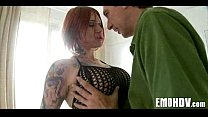 Babe with tattoos gets dick 347 - Download mp4 XXX porn videos