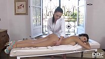 17644 Raunchy Masseuse Angelik Duval Ass Fisting Her Sexy Client Billie Star preview