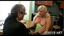 Old teacher is delighting enjoyable darling's taut honey pot pornhub video