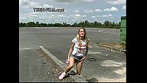 teen Laura shows pussy in public & teenanalcasting thumbnail