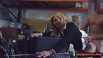 Sexy milf gets screwed in storage room thumb