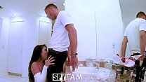 13639 Spyfam Thanksgiving fuckfest with Anissa Kate and Adria Rae preview