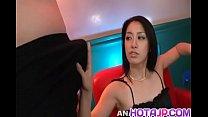 9264 Kyoka Ishiguro sensual cock sucking on two hard dongs - More at hotajp com preview