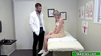 Teen babe analed by her horny doctor
