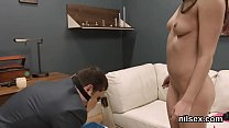 Sexy girl is taken in butthole asylum for awkward treatment