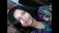 Sexy Beauty Bengali Girlfriend Kissing her Lover