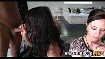 3 Teens Have Fun with 2 Cocks Brandi Belle thumbnail