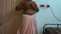 6827 Indian Hot Mallu Aunty Nude Selfie And Fingering For  father in law preview