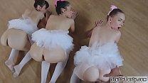 Screenshot Juicy ass anal  orgy Ballerinas