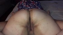 My wife shaking her fat ass and pussy thumbnail