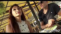 Lustful stud rams a lovely narrow pussy of a thai sex doll preview image