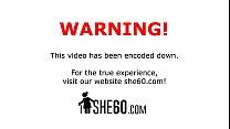 Redhead Gilf Tamara Blowing Schlong In Woods Thumbnail