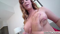 Beautiful MILF Stepmother With Big Natural Tits