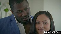 BLACKED Adria Rae and Ariana Marie First Interracial Threesome image