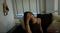 Pretty stepsis gives head and gets pounded by her stepbro
