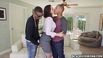 Pretty hot chick Chanel Preston love huge massive dick video