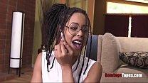 Ebony Slut carries her BOSS's BDSM spawn- Kira noir thumbnail
