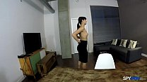 Spy Pov - Gina Valentina dressed up to get undr...