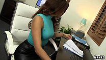 Latina Isabella DeSantos Office Fuck - Download mp4 XXX porn videos