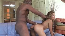 Tight Ass Wife Lana rides the BBC Huge Cock of Hubby´s Best Black Friend