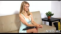 Appealing teen blonde girlie Summer Carter drilled well in doggy