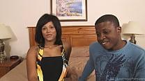 Amateur Ebony Couple Having Sex On Camera