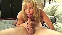 Mature Petite Blond Sucks & Fucks Her Young BoyToy pornhub video