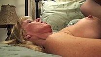 Mature Petite Blond Sucks & Fucks Her Young BoyToy image