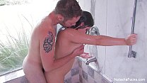 Natasha Nice In The Shower With A Wolf thumb