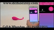 Lush - Remote Control Bullet Vibrator sex toy for girls delhisextoy.com thumbnail