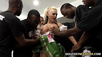 Alena Croft Serves Her Pussy Up To Black Men